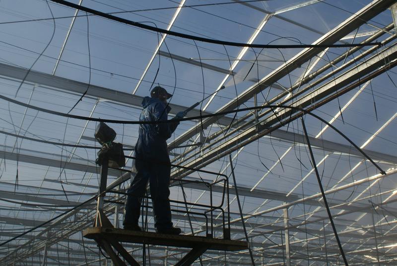 Glasbouw reiniging, glas helder