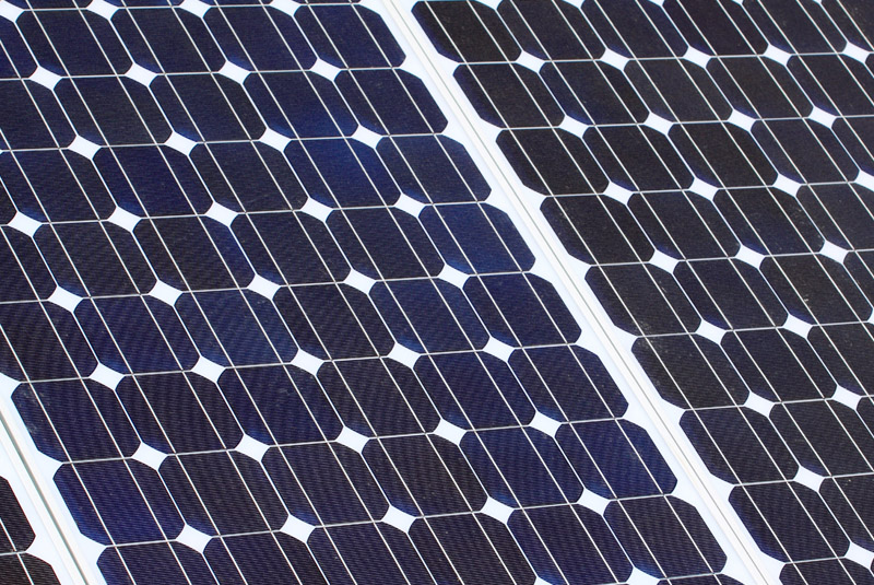 Reinging zonnepanelen met osmose water